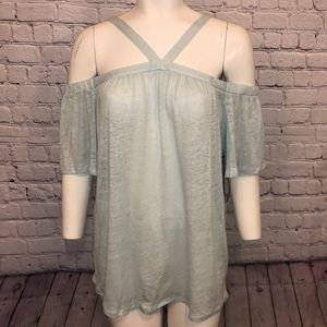 NWT 1. State Cold Shoulder Top C12